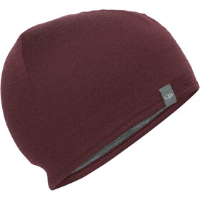 Icebreaker Pocket Casquette, redwood